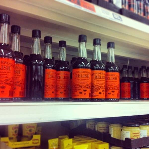 Shelf of Henderson's Relish