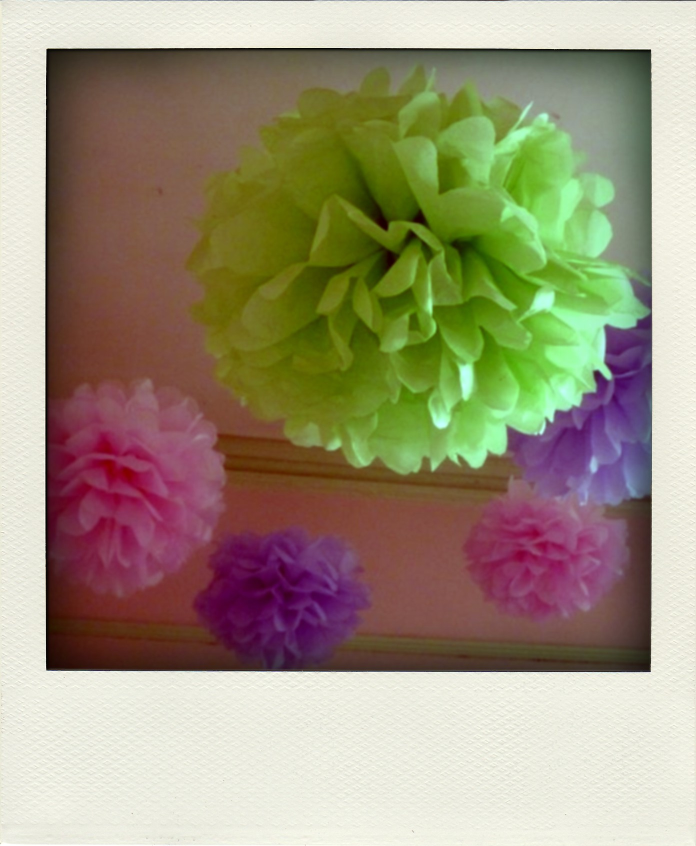 Easy To Make Paper Ceiling Flowers Fur Coat No Knickers