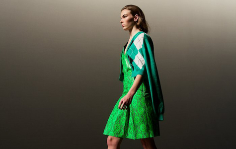 christopher kane does princess maragaret on acid