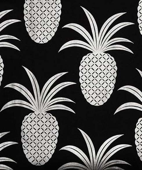 Pineapple Mania Continues With Totally Tropical Wallpaper Fur Coat