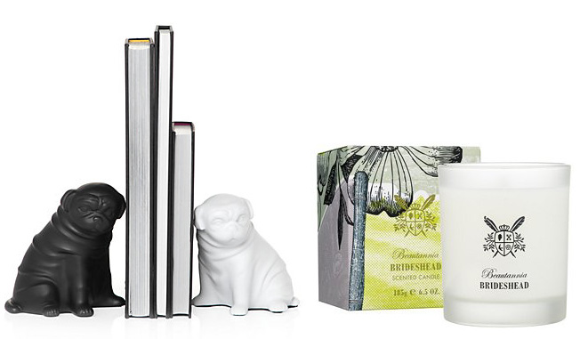 Z Gallerie Pug Bookends 8  Z Gallerie don t even ship