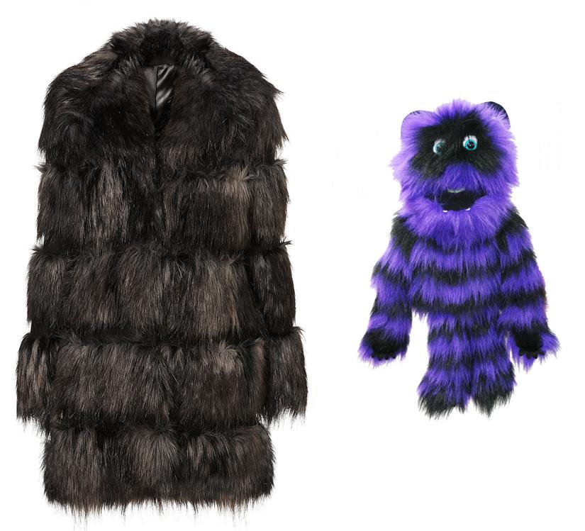 Build A Bear Winter Coat