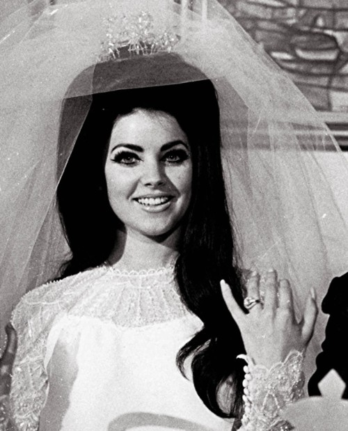 London Fashion Week Palate Cleanser Priscilla Presley