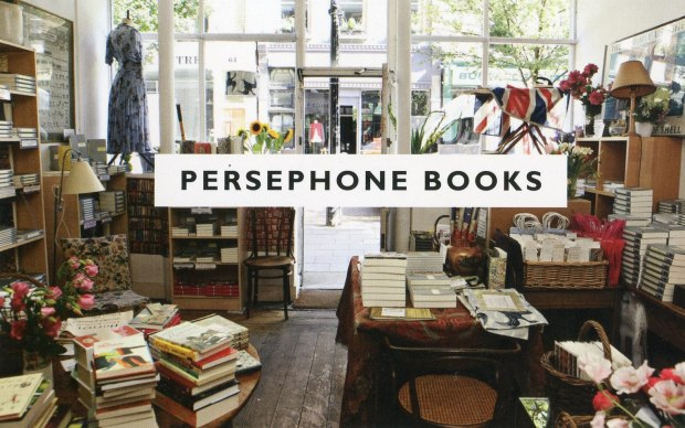 Persephone Books postcard