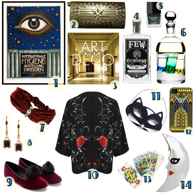 1920s Themed Gifts - Gift Ftempo