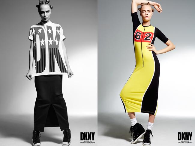 DKNY x OC Cara hair 2