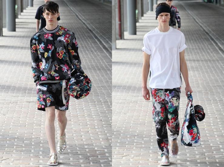 3.1 Philip Lim SS14 Menswear - aloha print