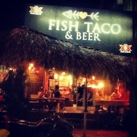 Fish Taco & Beer, Puerto Escondido, Mexico