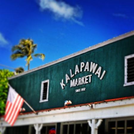 Kalapawai Market, Kaila, O'ahu, Hawaii