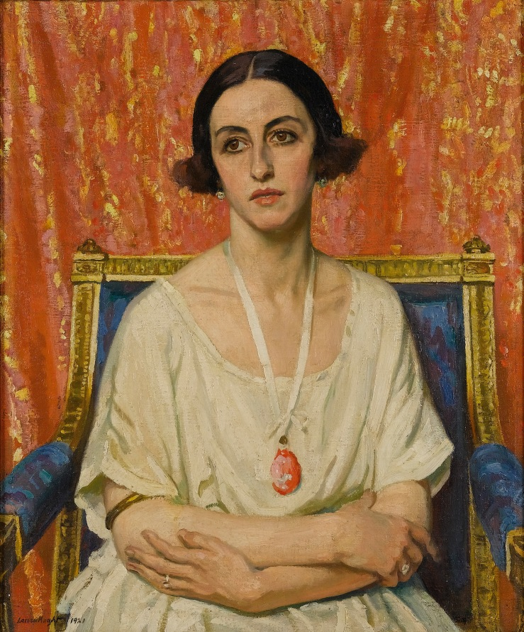 Lubov Tchernicheva by Dame Laura Knight, 1921
