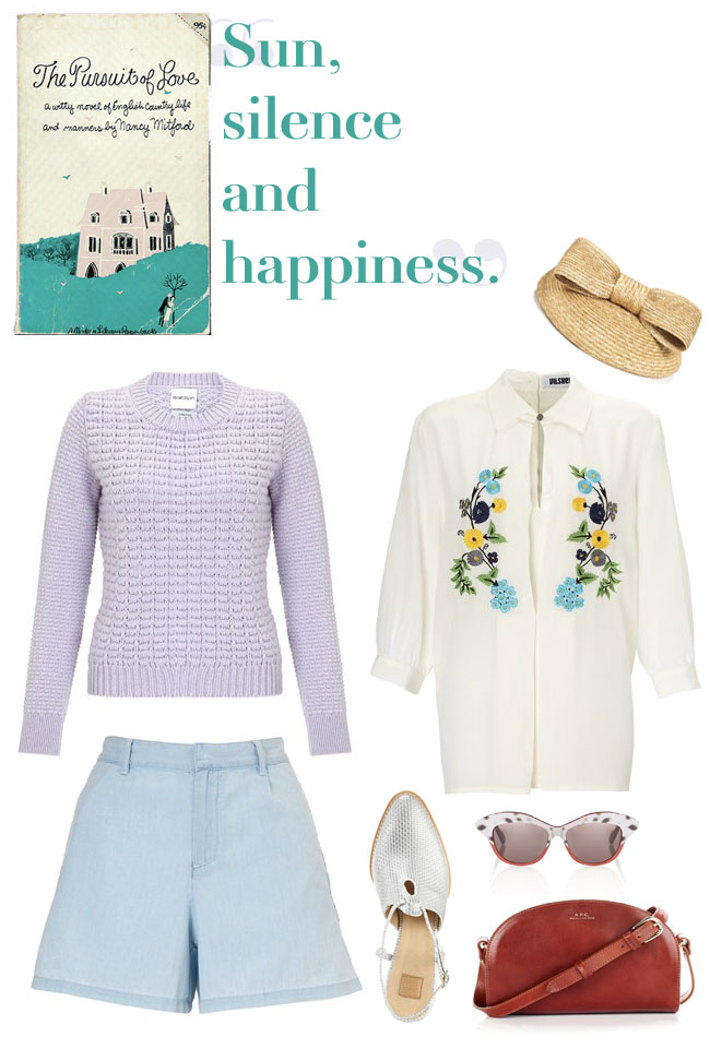 pastel summer outfit post