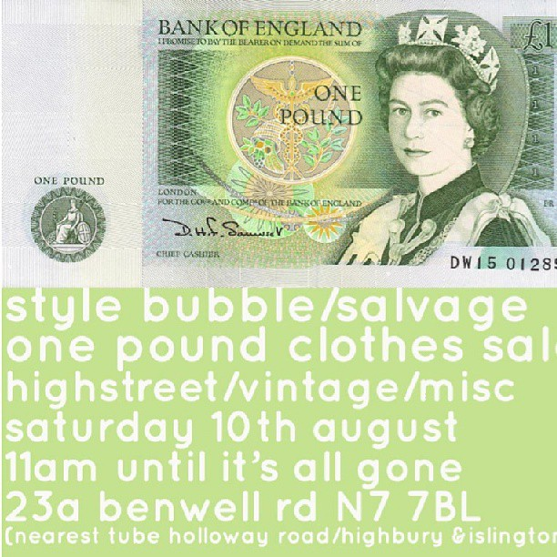 Susie bubble and style salvage steve £1 sale