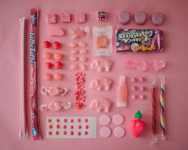 Sugar series by Emily Blincoe - pink