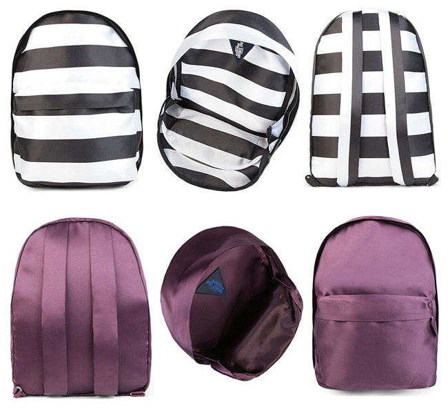 Raf Simons for Eastpak silk backpacks