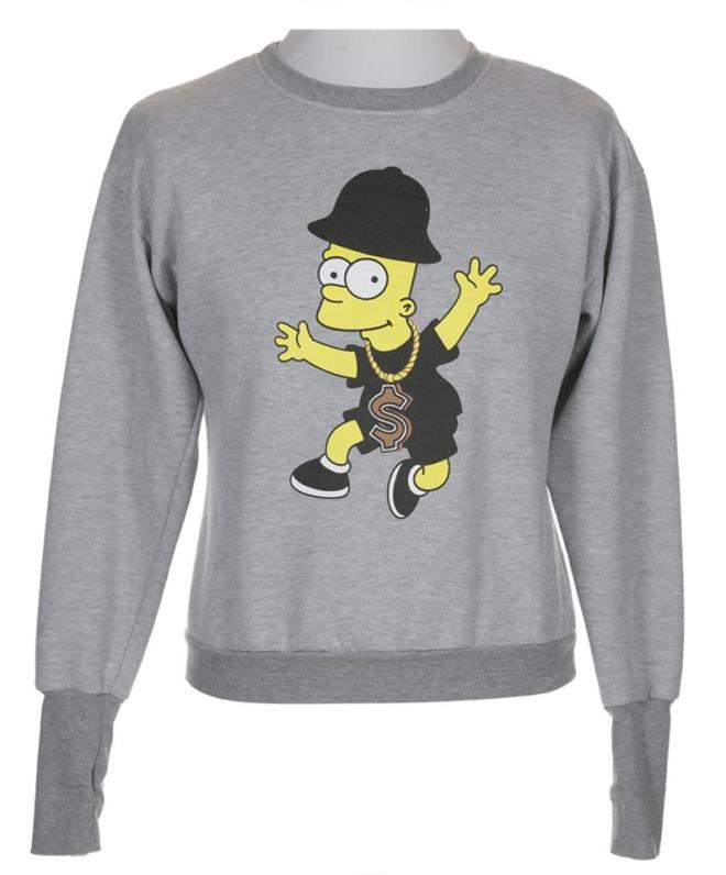 Vintage Bart Simpson bartman jumper