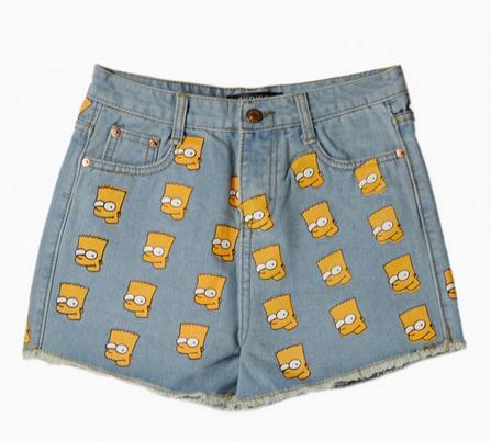 Bart Simpson jorts
